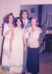 Gail, Hampton, me and ????    I think this is a homecoming pic