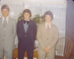 Jim Bona, John Daus, and Dave Bona.  I believe this is right before our Junior Prom