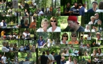 Collage of the June 12, 2010 gathering at Fort Hunt Park