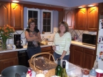 Post 30th Mini-Reunion on August 9, 2008. Dawn Pridmore and Robin (Burdelski) Becht...